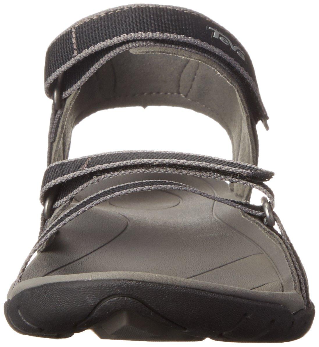 Teva Women's B07BR727LQ Verra Sandal B07BR727LQ Women's 11 D(M) US|Black 181483