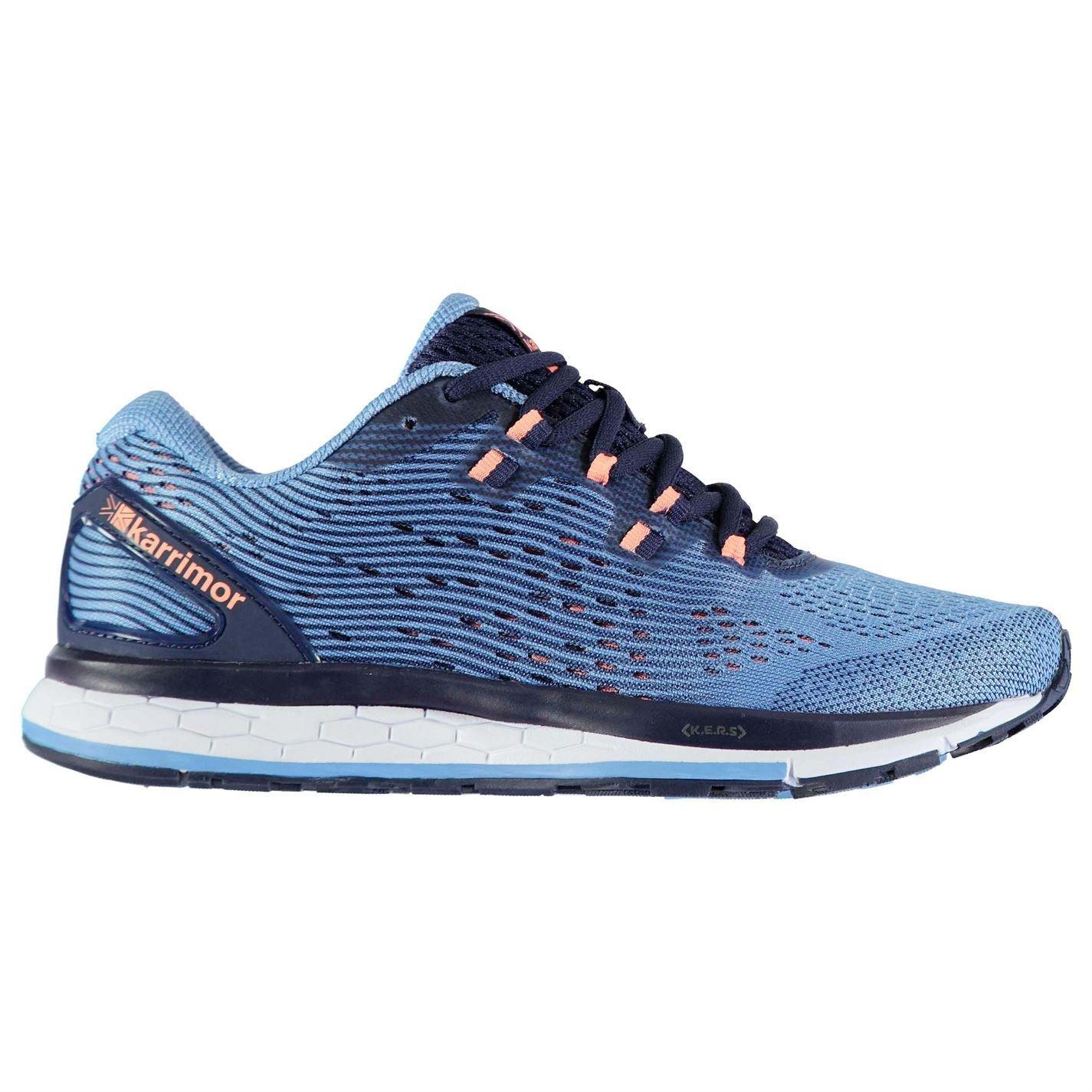 Officiel Chaussures Karrimor rapide prise en charge Chaussures de course à pied pour femme Bleu marine corail Jogging paniers paniers