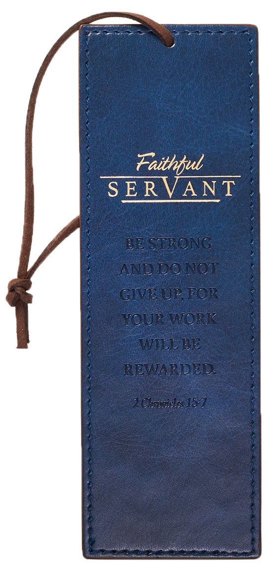 Download Bookmark, Faithful Servant, Blue pdf