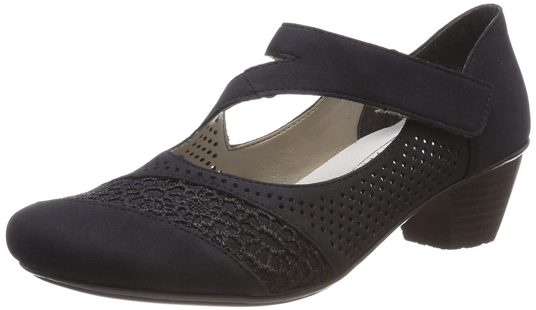 TALLA 40 EU. Rieker 41743-14, Zapatos de Tacón para Mujer