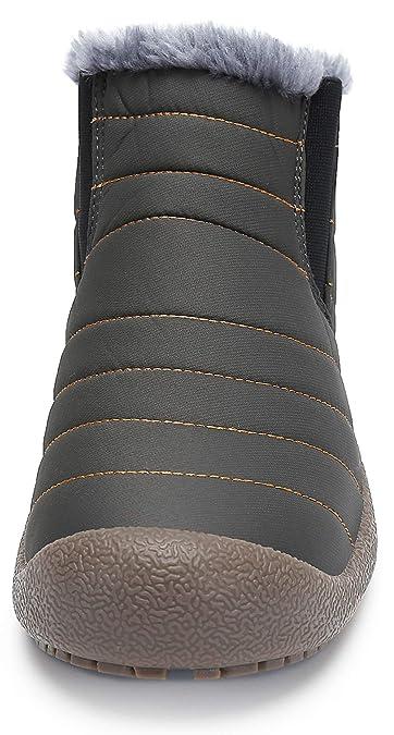 00b66251863a katliu Warm Gefüttert Winterschuhe - Warm Leicht Bequem, Unisex -  Erwachsene Größe 36-48  Amazon.de  Schuhe   Handtaschen