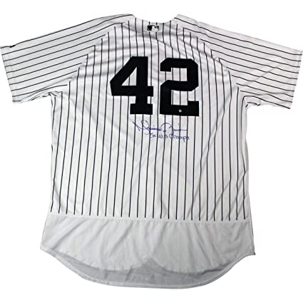 best authentic d1429 9fa8c Mariano Rivera Autographed Signed New York Yankees #42 ...