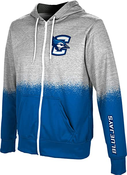 Creighton University Girls Zipper Hoodie School Spirit Sweatshirt Brushed