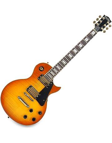 Rocktile L-200OHB Pro Honey Burst - Guitarra eléctrica, color naranja