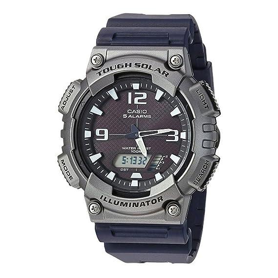 Casio para hombre Analog-Digital Casual reloj Solar aq-s810 W-1 a4: Amazon.es: Relojes