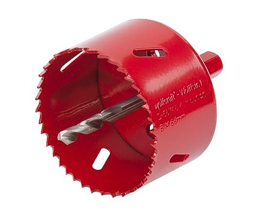 9 opinioni per Wolfcraft 5474000- sega a tazza bi-metallica ø 68 mm con adattatore mandrino e