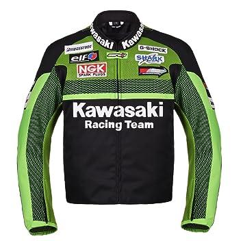 Amazon.com: Kawasaki Racing Team Textile Motorcycle Jacket (XXL ...