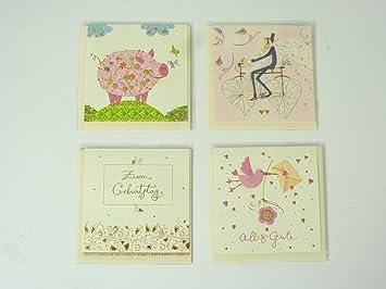 Klappkarten zum auswählen Geburtstagskarten mit Umschlag Grußkarten