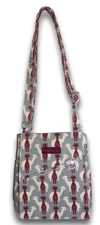 e931a7fd88d4 Bungalow 360 Small Messenger Crossbody Bag (Alpaca)