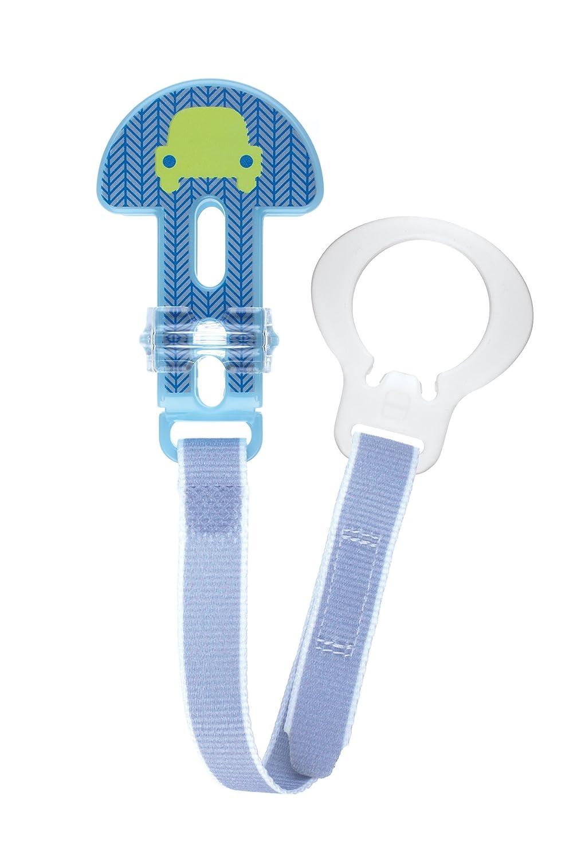 MAM 62833722 Farblich sortiert Schnullerband f/ür M/ädchen Clip Fashion