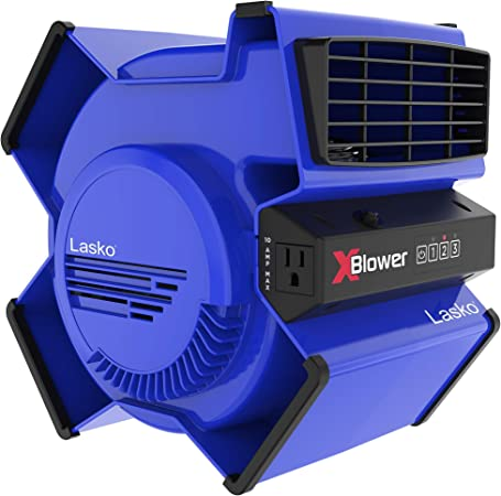 Lasko High Velocity X Blower Utility Fan for Cooling