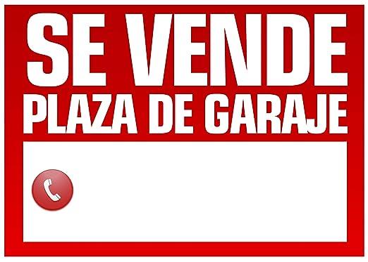 Wayshop | Cartel Se Vende Plaza de Garaje | Medidas 50cm x ...
