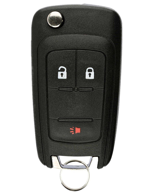 Remote Key Shell Case 2+1 Button for Chevrolet Equinox Sonic Orlando 2010-2017