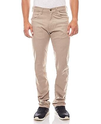Wrangler Arizona Stretch Hose Jeans Herren Stoffhose Braun