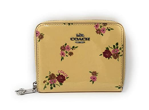 62124172ff3b Image Unavailable. Image not available for. Color  Coach Daisy Bundle Patent  Small Zip Around Wallet