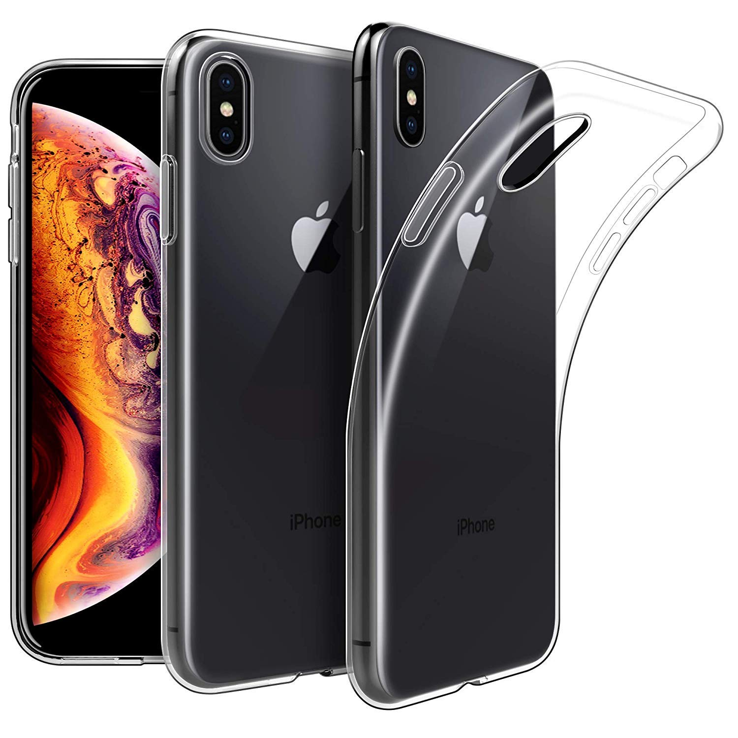 cover iphone xs max silicone