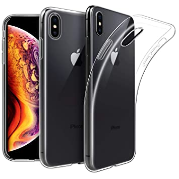 separation shoes c6dfb 0fd09 KP TECHNOLOGY iPhone Xs / iPhone X - Clear Case Ultra Thin Transparent  Silicone Gel Cover for Apple IPHONE Xs / IPHONE X (CLEAR)