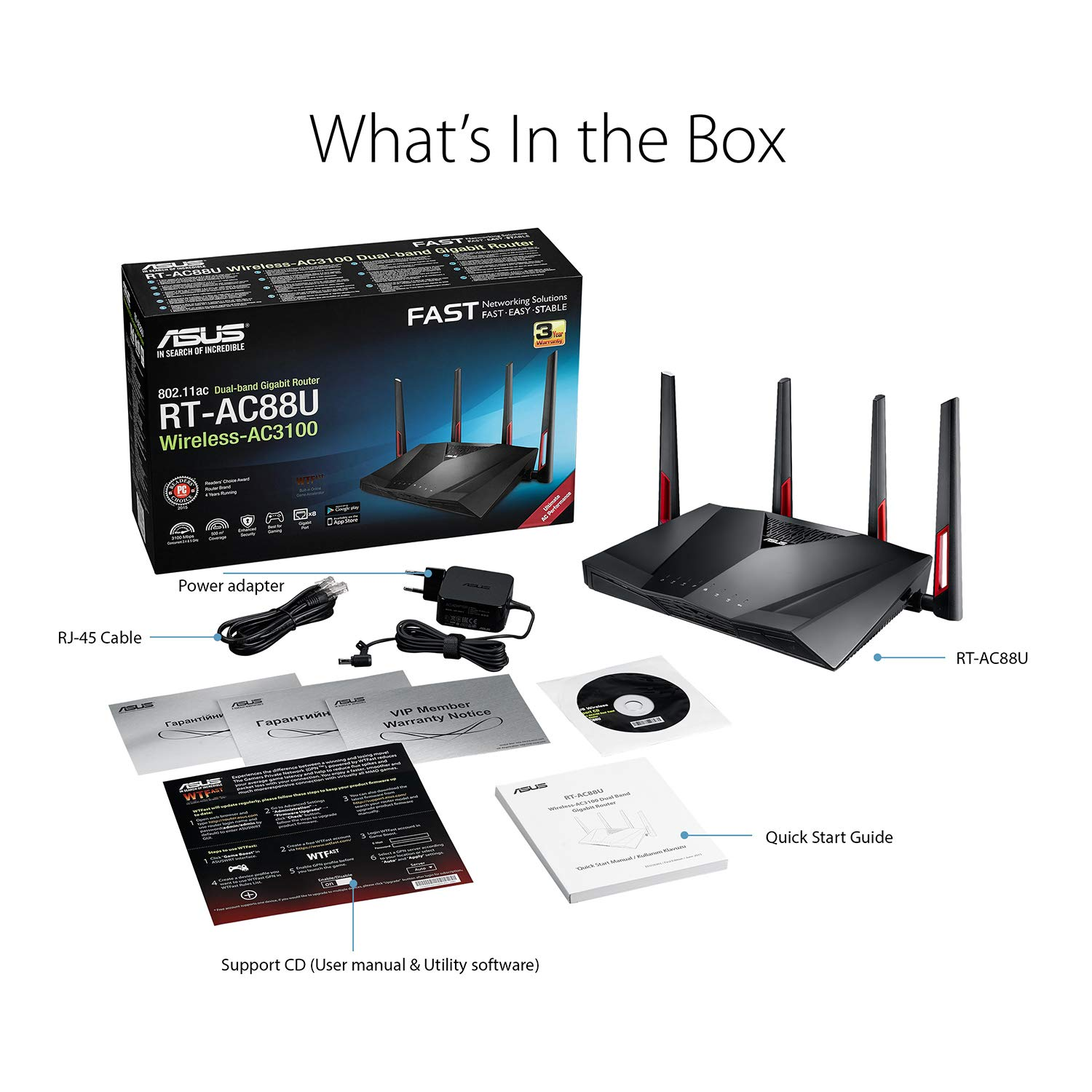 AI Mesh USB 3 0 Router, AiProtection by Trend Micro, AI Mesh, WTFast