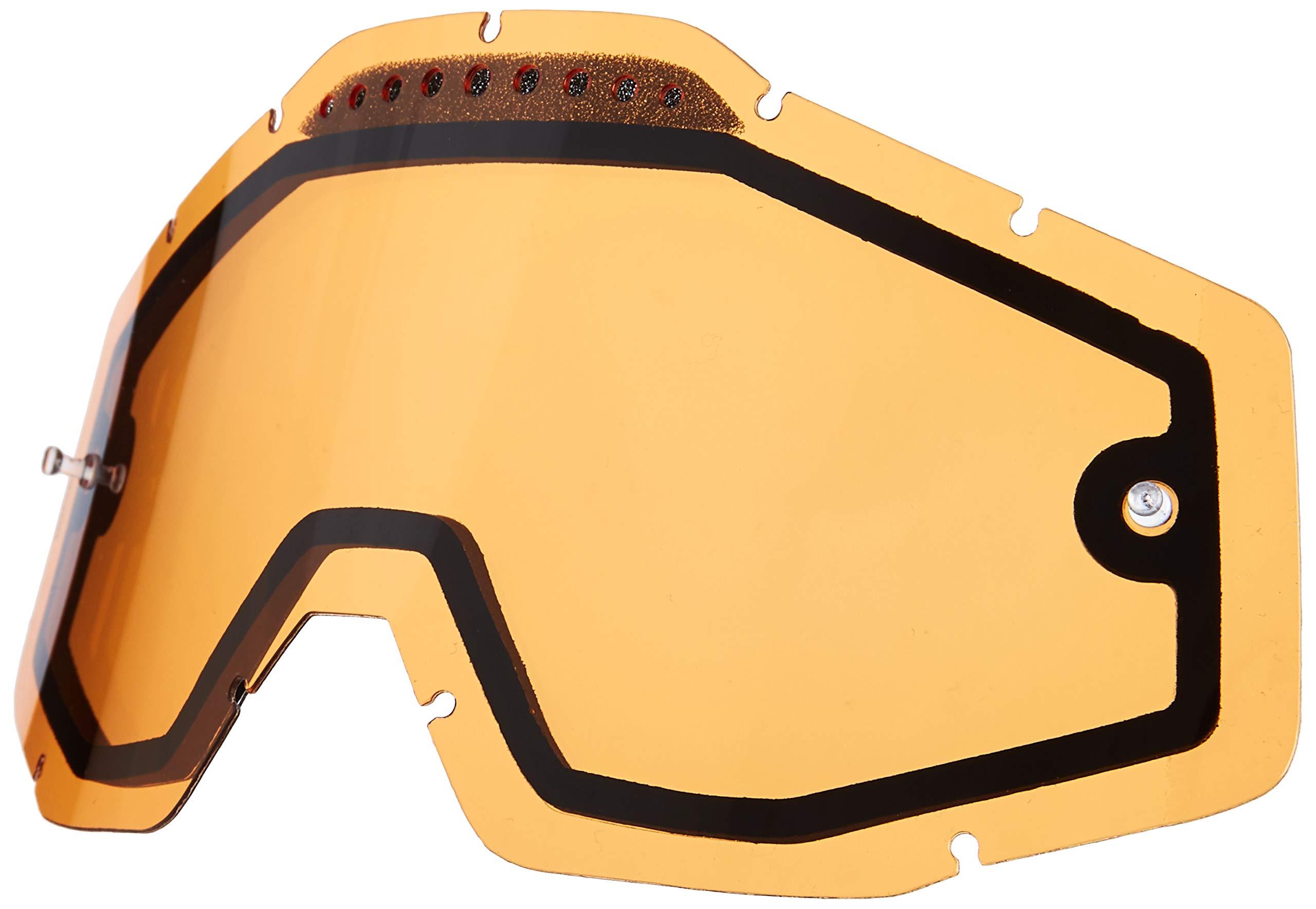 100% Unisex-Adult Speedlab (51006-046-02) RACECRAFT/ACCURI/STRATA Vented Dual Pane Lens Anti-Fog-Persimmon, Free Size