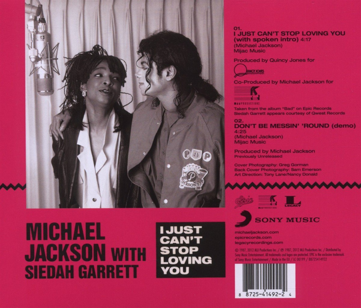I Just Can't Stop Loving You   Jackson,Michael Amazon.de Musik
