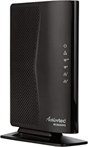 Actiontec 802.11ac Desktop WiFi Extender with 4 Internet Antennas 5GHz, Gigabit Ethernet, Bonded MoCA for Whole Home Fast WiFi (WCB6200Q) (Renewed)