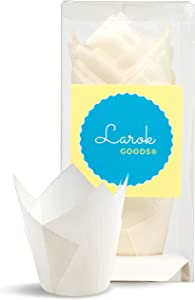 Tulip Cupcake Liners (Milk White) 100 Count