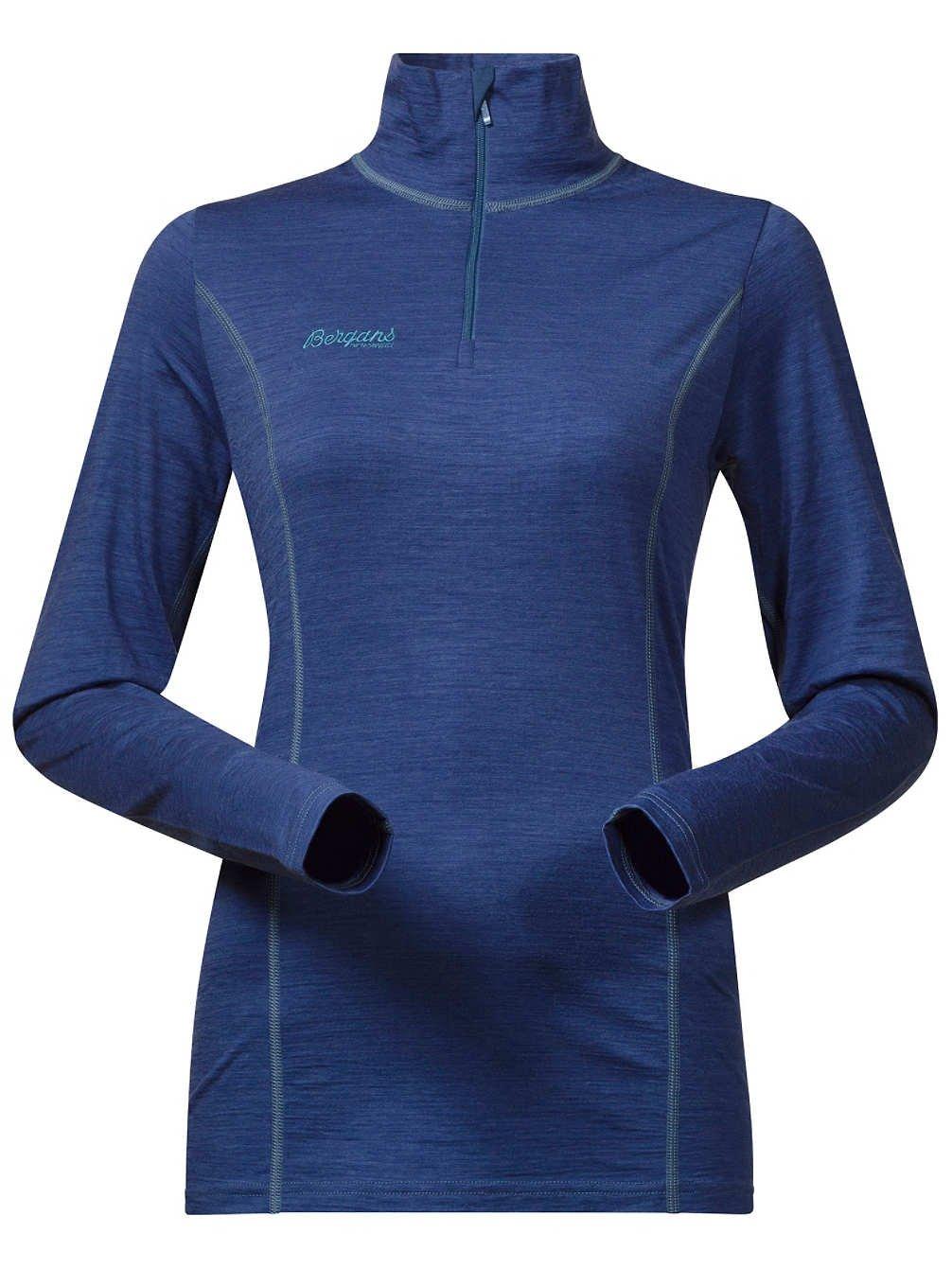 Bergans Soleie Lady Half Zip Shirt - 150er Funktionswäsche aus Merinowolle