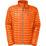 The North Face ThermoBall Full-Zip Insulated Jacket - Men's Burnished Orange, L