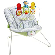 Fisher-Price Babys Bouncer, Geo Meadow