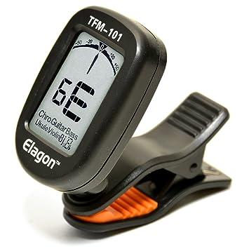 Afinador Elagon (TFM-101) afinador multi-Instrumentos con agarre de tipo clip