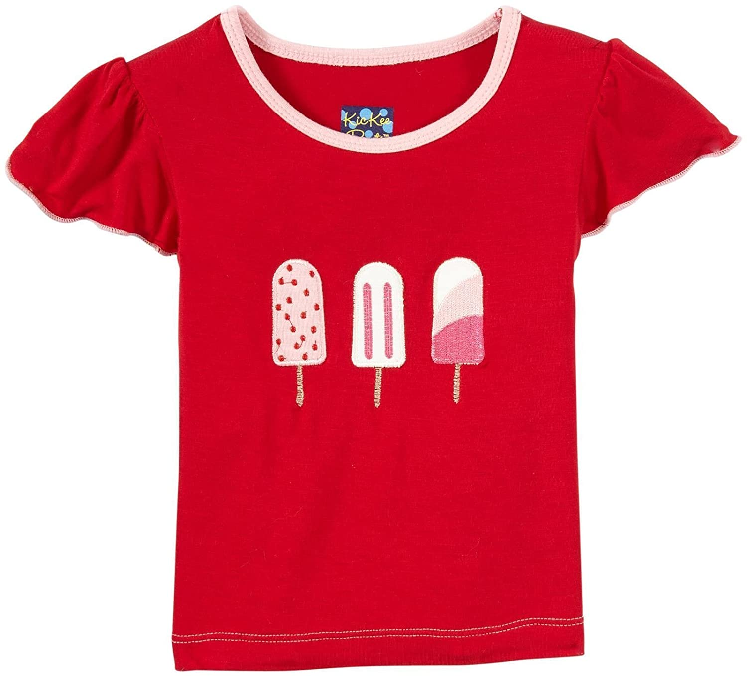 Balloon Popsicle Baby Kickee Pants Applique Tee