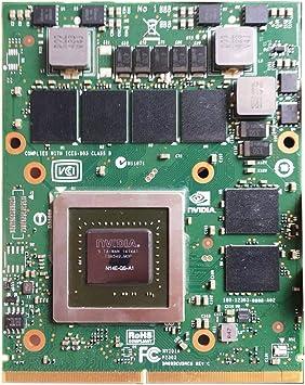 DELL ALIENWARE NVIDIA GeForce GTX 770M GPU 3GB GDDR5 MXM 3.0 Graphics Card