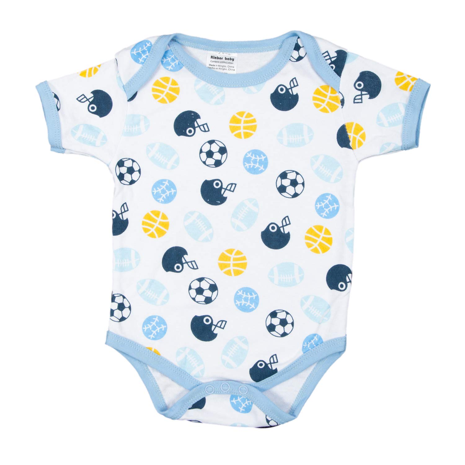 Kinbor Baby Newborn 10 Piece Essential Baby Layette Set for Boys and Girls