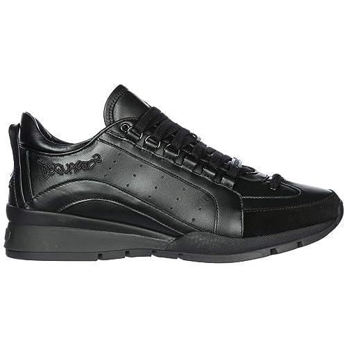 Dsquared2 551 Zapatillas Deportivas Hombre Nero: Amazon.es: Zapatos y complementos