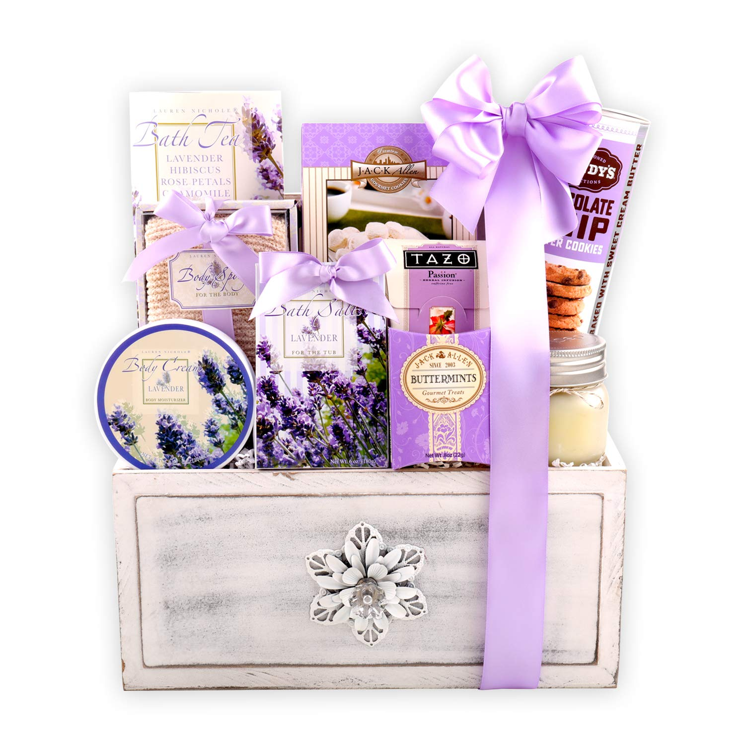 Deluxe Lavender Spa Gift Chest