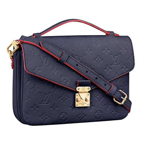 Louis Vuitton Made In France >> Louis Vuitton Monogram Empreinte Leather Pochette Metis
