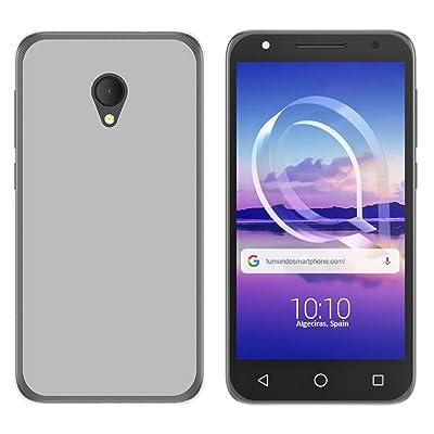 Tumundosmartphone Funda de Gel TPU para ALCATEL U5 HD/U5 HD Premium Color Transparente