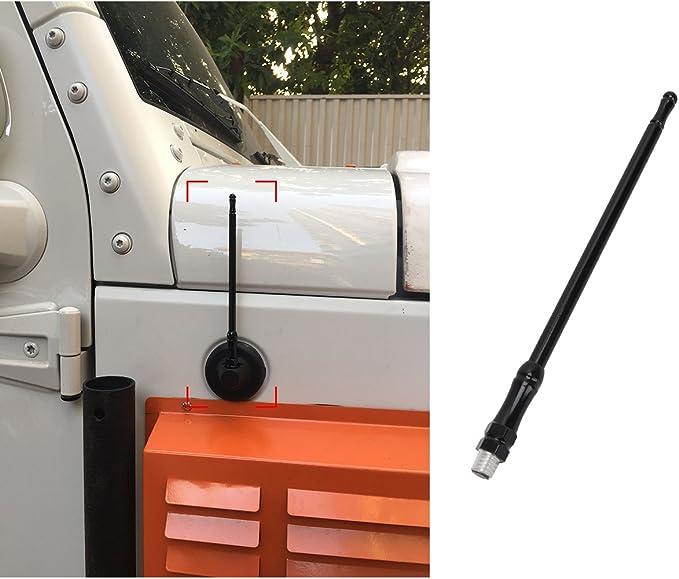 1 antena de goma AM FM de 33 cm para coche: Amazon.es: Coche ...