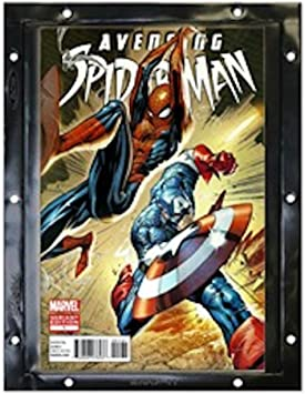 BCW SI-CB-BLK Current Silver Age Comic Book Snap It Binder Sleeves Panels 12