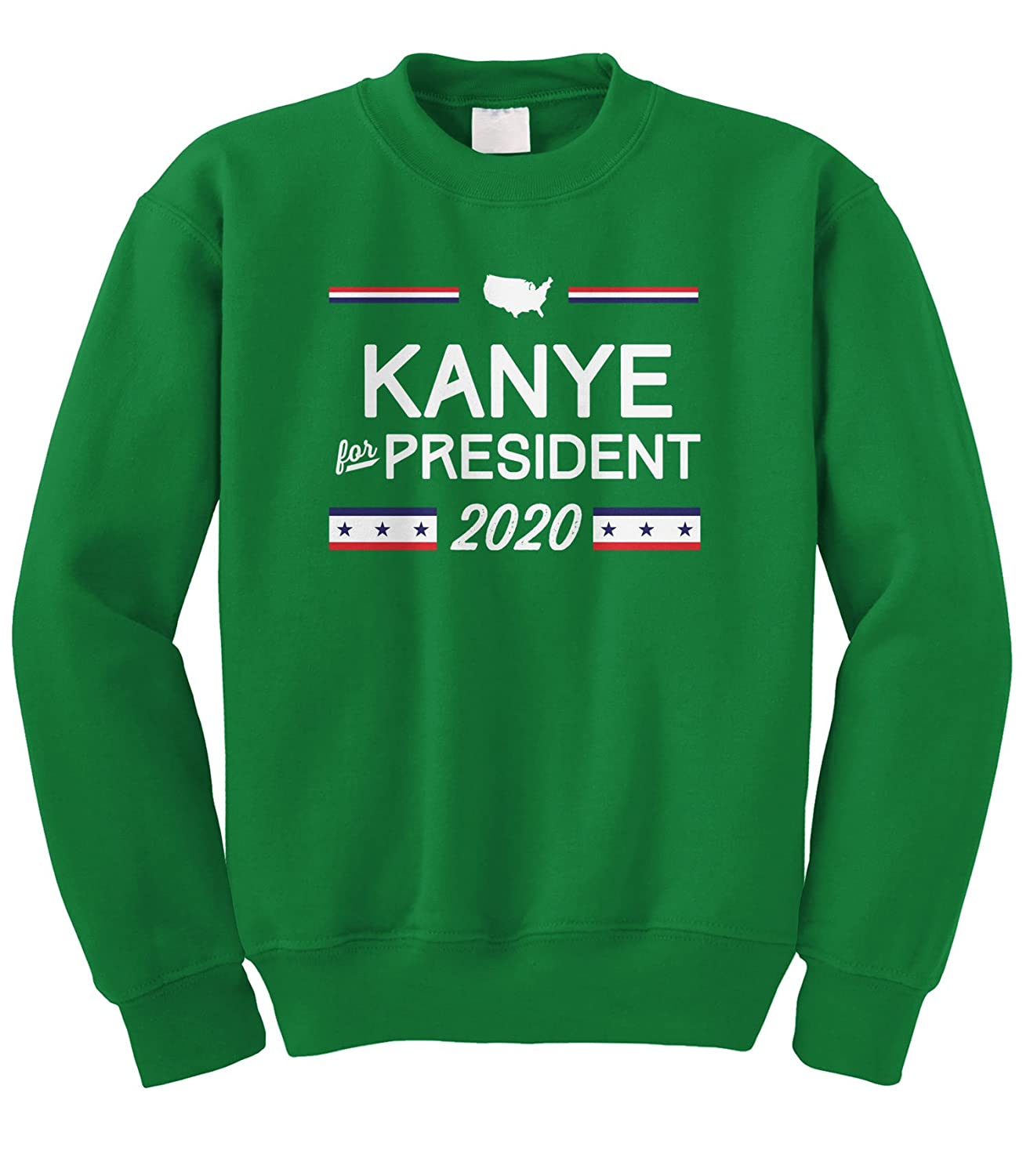 Cybertela Kanye For President 2020 Crewneck Sweatshirt 0660_MENCREW