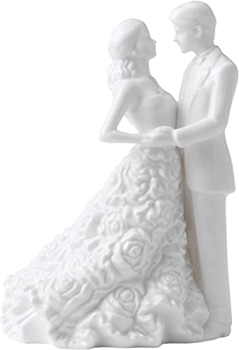 Monique Lhuillier for Royal Doulton Modern Love Bride and Groom Cake Topper