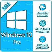 Windows 10 professionnel 32/64 bits Microsoft | Licence Français | 100% de garantie d'activation | Livraison par e-mail