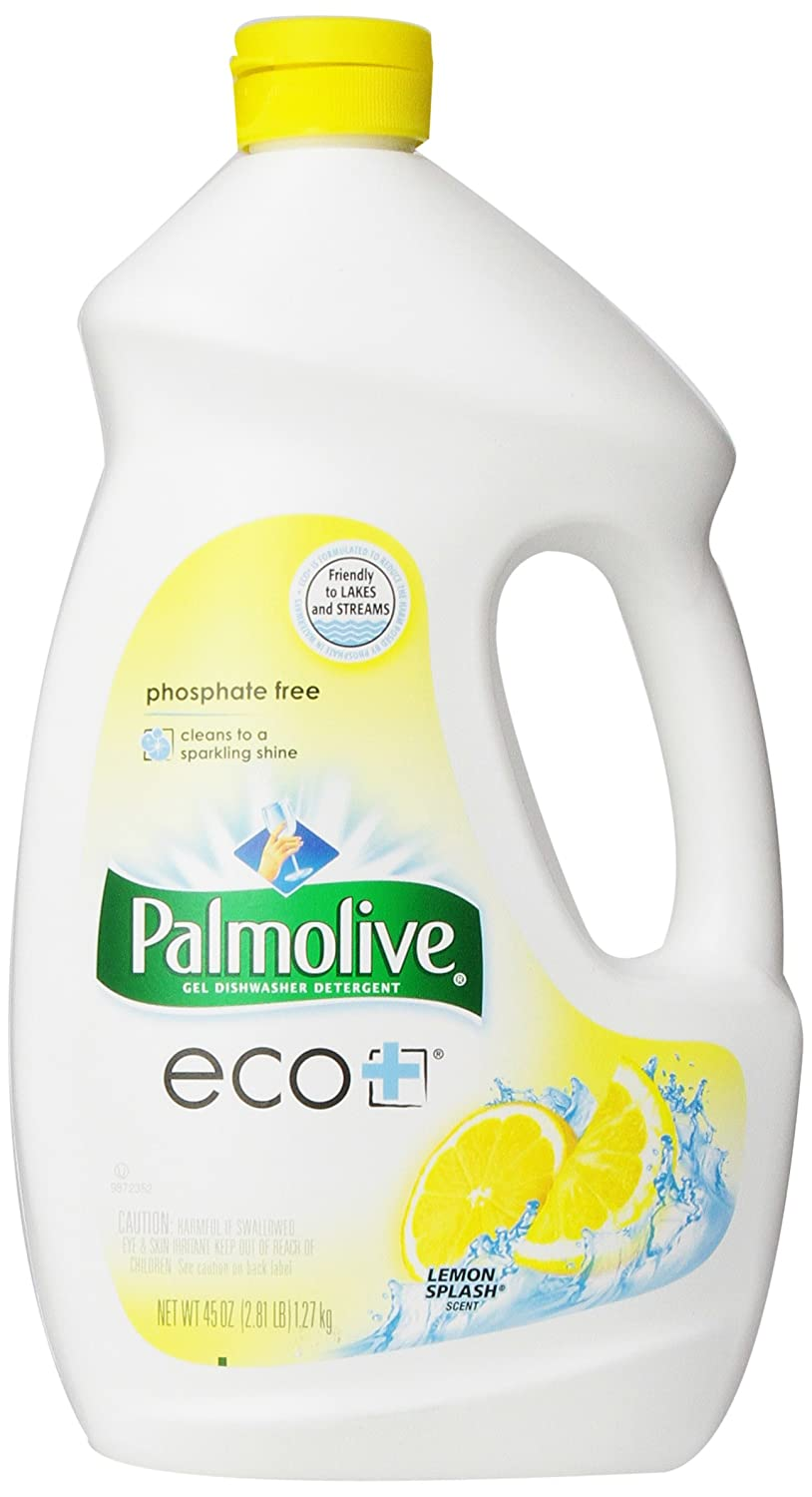 Amazoncom Palmolive Eco Gel Dishwasher Detergent Lemon Splash