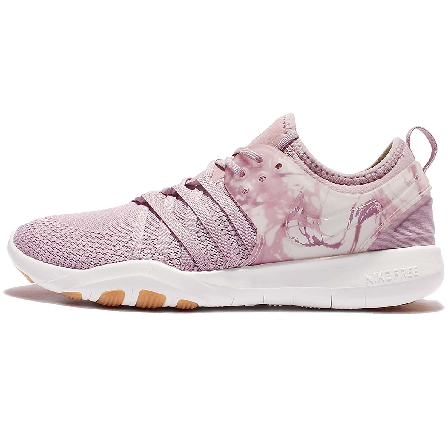 NIKE Free Tr 7 Womens Cross Training Shoes B00K6V246G 6 B(M) US|Plum Fog/Plum Fog-summit White