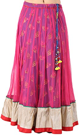 8a2d295346246d Arya The Design Gallery Women s Net Regular Fit Ethnic Skirts( SK10134