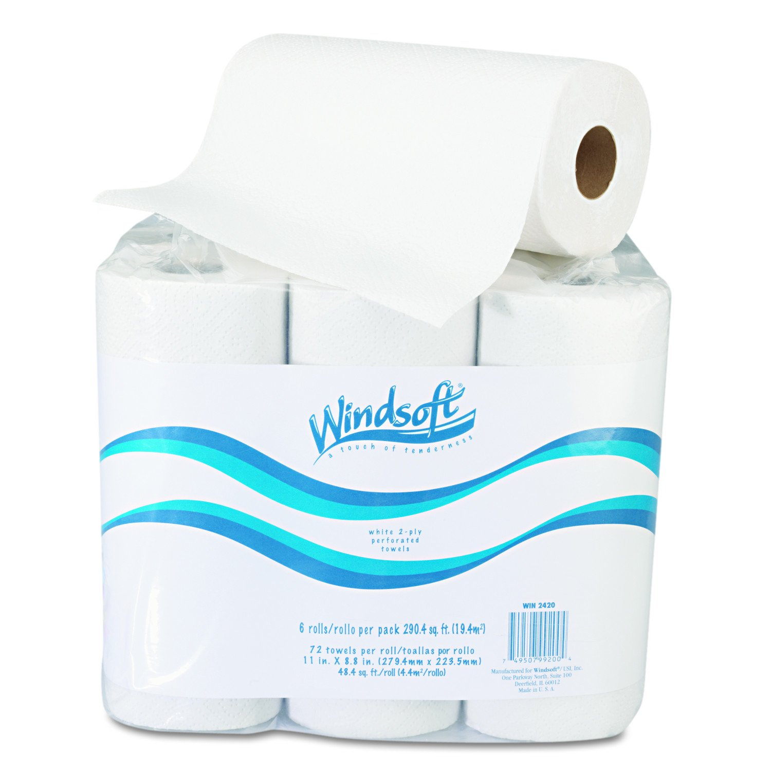 Windsoft 2420 Paper Towel Roll, 11