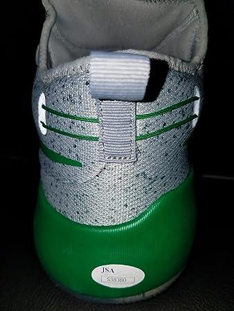da7f35bf979 ... release date isaiah thomas autographed authentic nike hypershift single  shoe jsa authentic coa autograph 1 1
