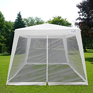 Quictent Outdoor Canopy Gazebo Party Wedding tent Screen House Sun Shade Shelter with Fully Enclosed Mesh & Amazon.com: Quictent Outdoor Canopy Gazebo Party Wedding tent ...