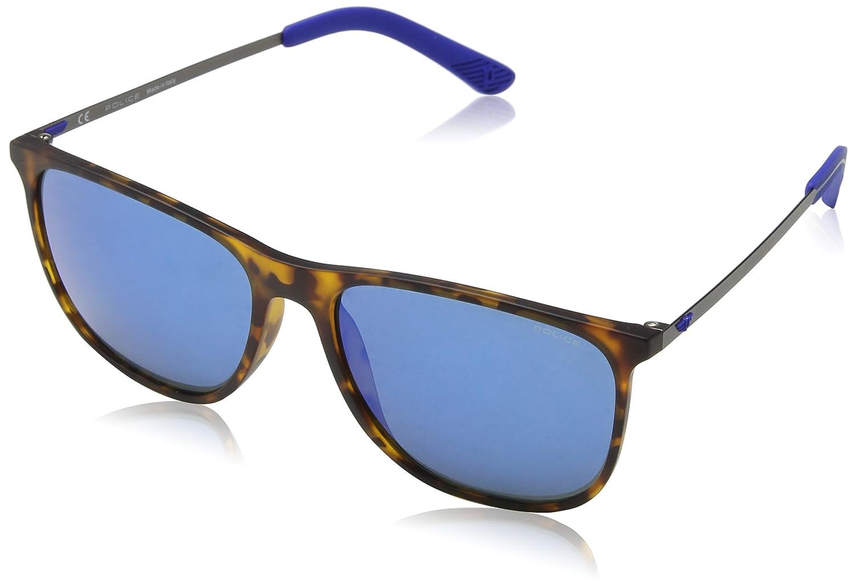 Police Edge 5 Gafas de Sol, Multicolor (Havana Rubberized), 57 para Hombre