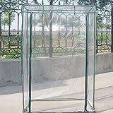 Cubierta de la planta del PVC del invernadero Tenda del jardín del tomate (no incluido Estante del hierro)